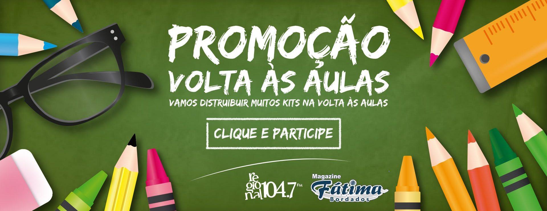 Promoção VOLTA ÀS AULAS