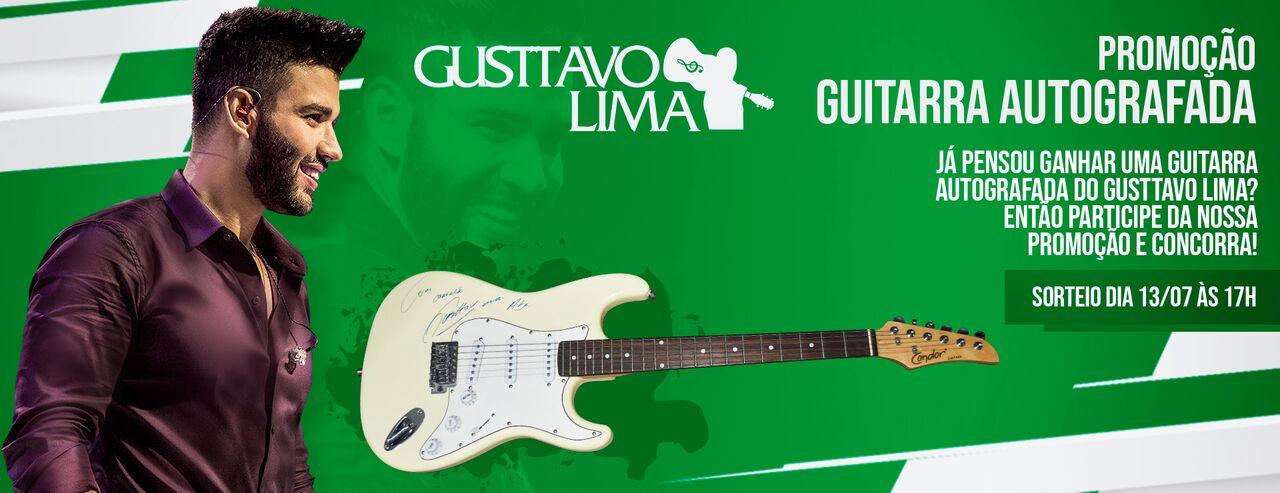 Promoção guitarra Gusttavo Lima