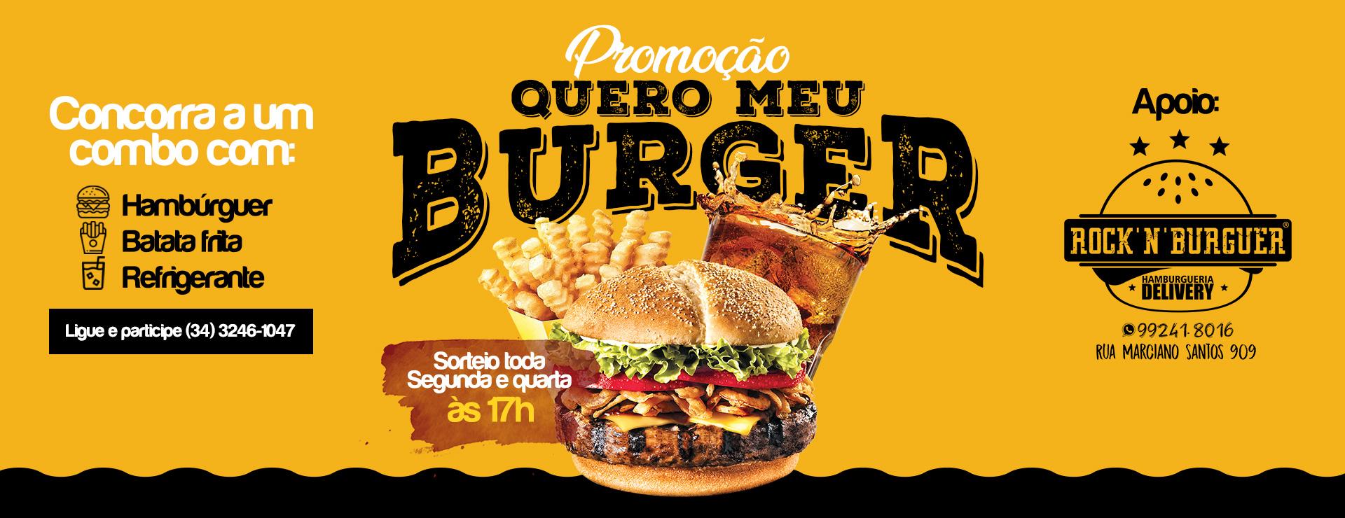 Promoção Burger