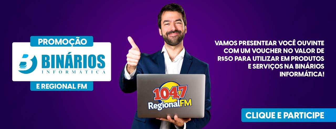 PROMOÇÃO REGIONAL FM E BINARIOS INFORMATICA