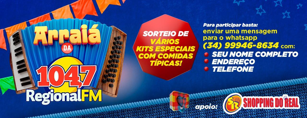 PROMOÇÃO ARRAIÁ DA REGIONAL FM