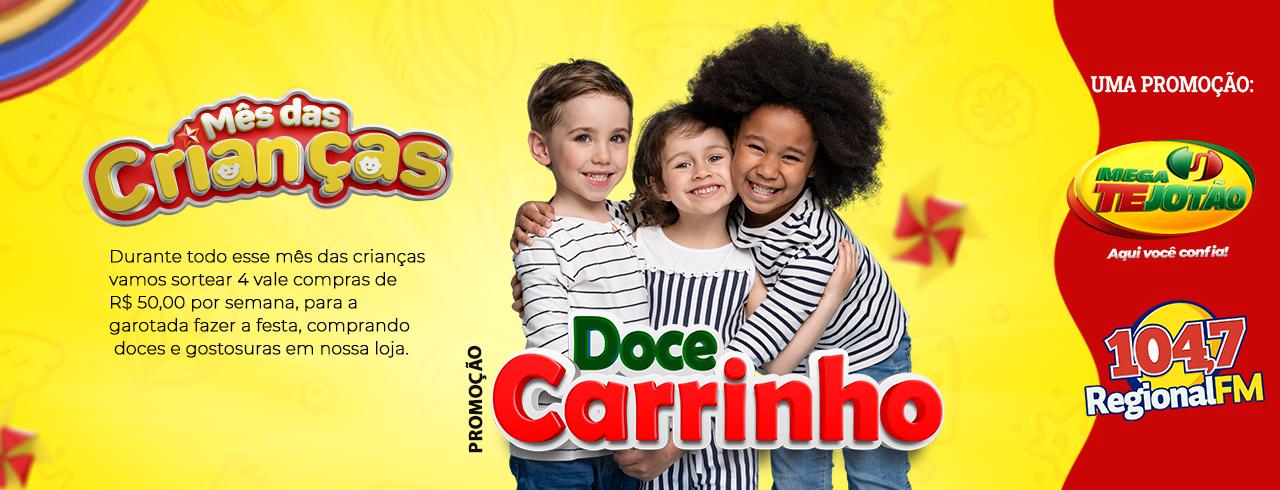 PROMOÇÃO DOCE CARRINHO
